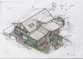 Order an individual project of a house, cottage or cottage. Profi Stroy