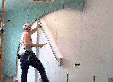 To order the alignment of walls with drywall cost price. The company Profi Stroy in Kherson Nikolaev to order installation of drywall