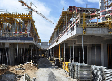 Construction of duplexes, boarding houses, apartment buildings in Kherson and Kiev. Profi Stroy
