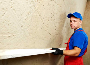To order plaster finishing of walls of ceilings the price TO CONSIDER BUILDERS OF DECORATORS KERSON Nikolaev