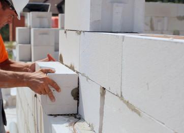 Кладка стен и перестенков из газобетона в Херсоне. Профи Строй