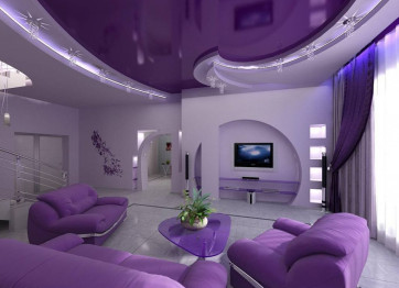 Stretch ceilings in Kherson to order, buy INSTALLATION SERVICE PRICE Glossy Matte