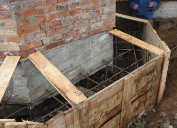 To strengthen the foundation of the built house in Kherson Nikolaev the price of the work project installation