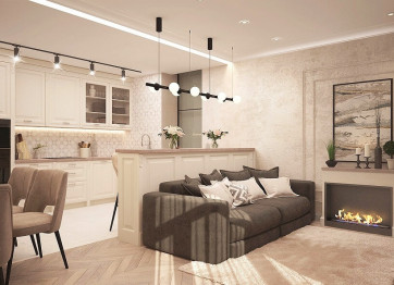 What determines the cost of apartment renovation in 2021