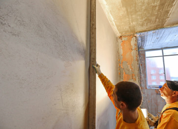 To order plastering of walls of ceilings in Kherson Nikolaev REPAIR IN KERSON Nikolaev TURNKEY the cost of services of plasters the price per square meter