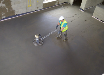 заказать заливку полов бетоном